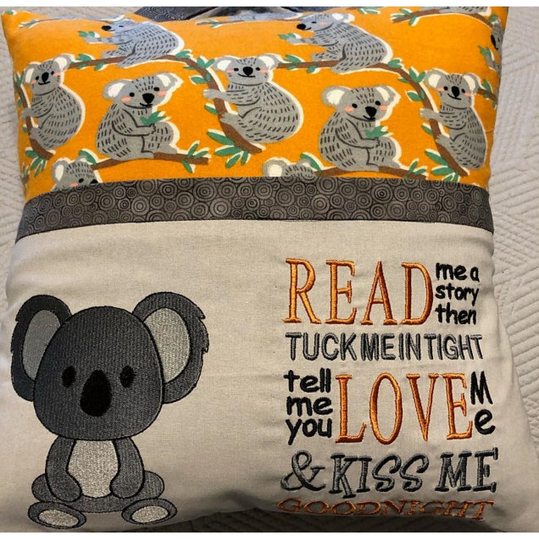 Koala with read me a story