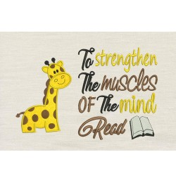 Giraffe with To strengthen
