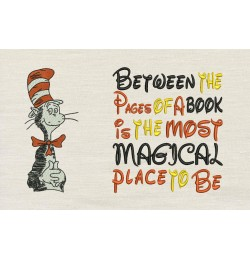 Dr. Seuss stitches with Between the Pages