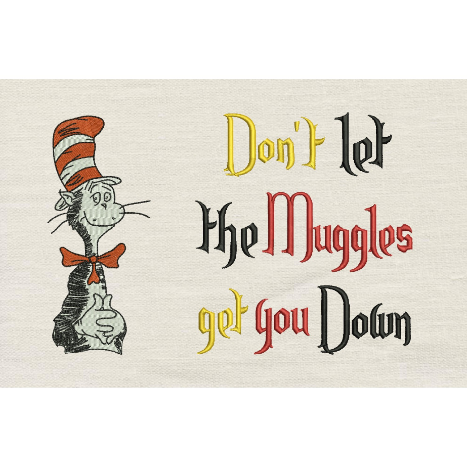 Dr. Seuss stitches with don't let