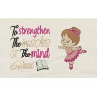 Ballerina girl To strengthen