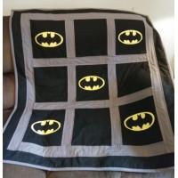 Batman logo Design Machine Embroidery