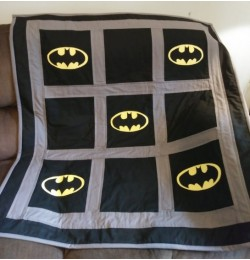 Batman logo Design Machine Embroidery