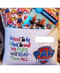 Logo paw patrol with No book too big