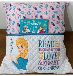 Elsa Frozen Embroidery v2 read me a story Designs