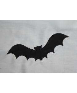 Bat embroidery design