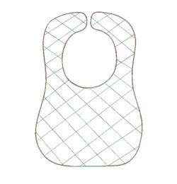 Baby bibs diamond ITH in the hoop design