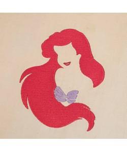 Little Mermaid Design Machine Embroidery