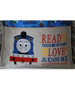 Thomas embroidery with read me a story Designs