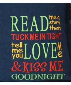 Read me a story Design Machine Embroidery