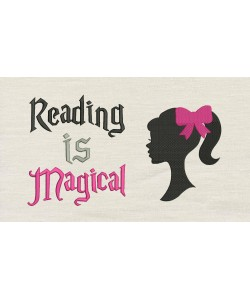 Barbie with Reading is Magical