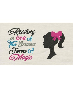 Barbie with Reading is one of