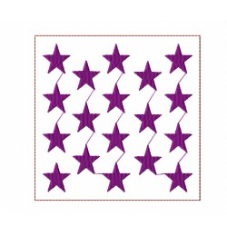 Stars Quilt Block Embroidery