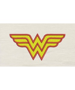 Wonder Woman Embroidery