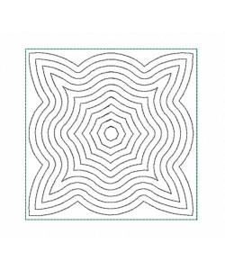Seranta in the hoop Quilt Block Embroidery