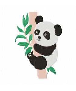 Panda Machine Embroidery