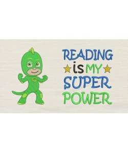 PJ Masks Green with Reading is My Superpower