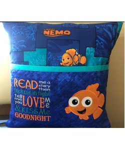 Nemo with read me story Embroidery