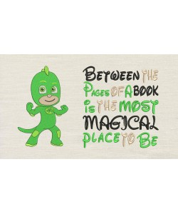 PJ Masks Green with Between the Pages