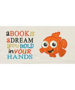 Nemo with a book is a dream