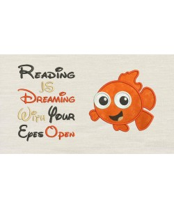 Nemo with reading is dreaming