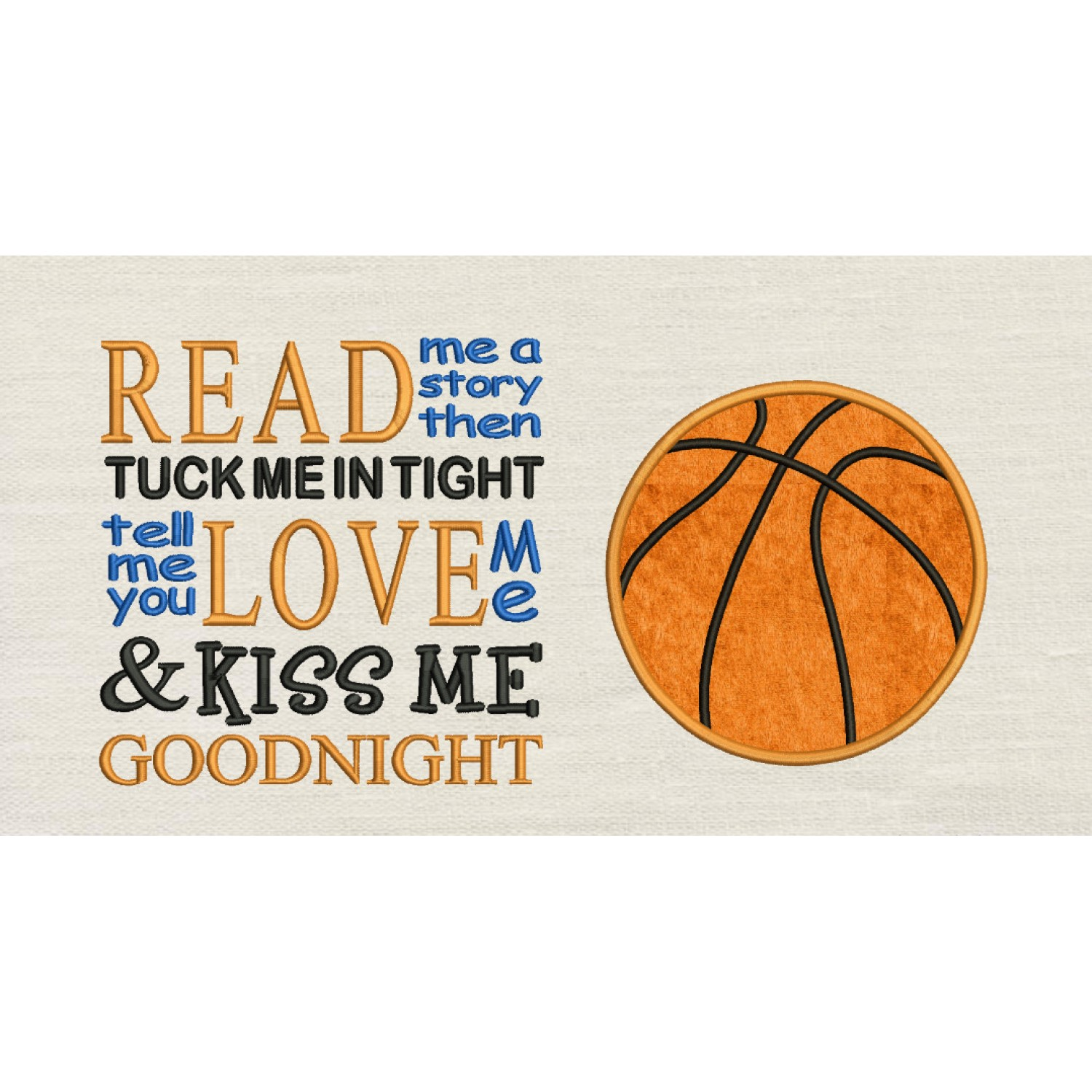 Basketball with Read me a story