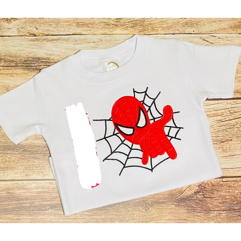 Spiderman Design Machine Embroidery