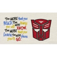 Autobots face with the more that you read