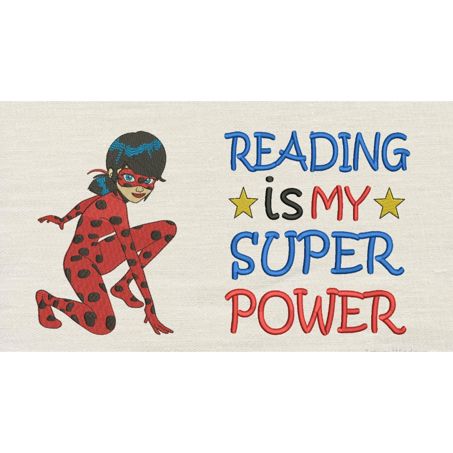 Miraculous with Reading is My Superpower