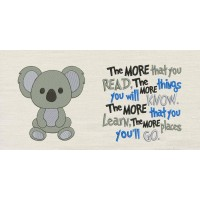 Koala with the more that you read