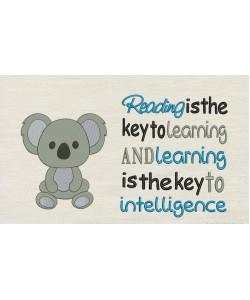 Koala with Reading is the key