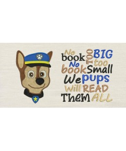 Paw Patrol Chase Face with NO BOOK