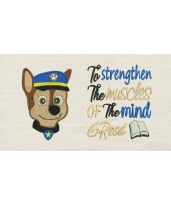 Paw Patrol Chase Face with To strengthen