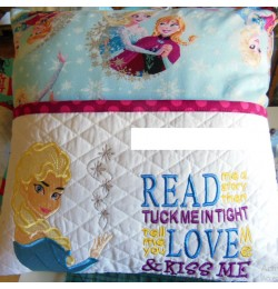 Elsa Frozen Embroidery v2 with read me a story Designs