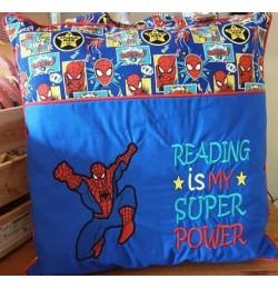 Spiderman grand Reading is My Superpower designs