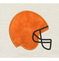 Football Helmet Embroidery