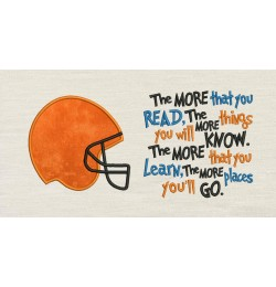 Football Helmet with the more that you read