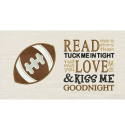 Football with Read me a story