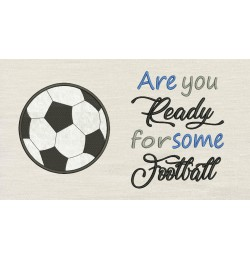 Football Football with Are You Ready