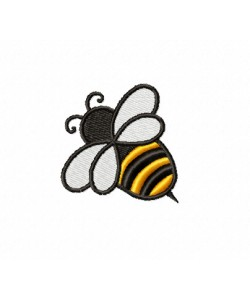 Bee Design Embroidery