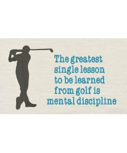 The greatest with golf