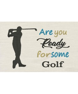 Are You golf with golf