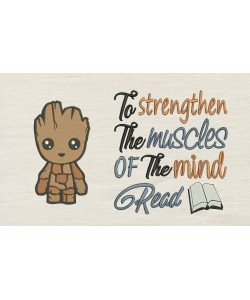 Baby Groot with To strengthen