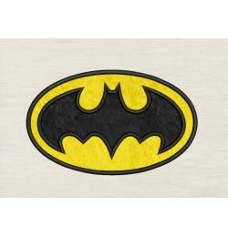 Batman logo applique design