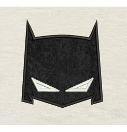 Batman mask applique Design