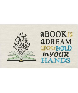 Book almaerifa with a book is a dream
