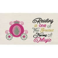 Princess carriage with Reading is one of