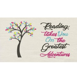 Tree colors with reading takes you