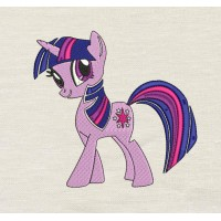 Twilight Sparkle my little pony Embroidery