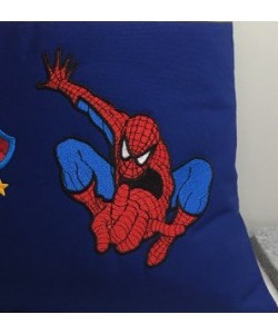 Spiderman lonway embroidery design
